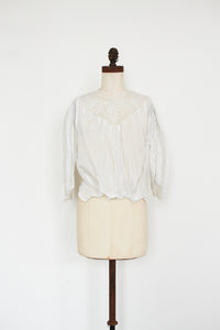 Edwardian Swissdot Embroidered Blouse
