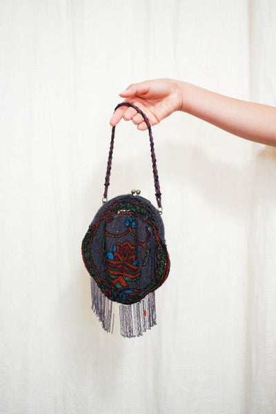 Antique 1920s Art Deco Beaded Handbag