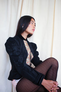Victorian Soutache Embroidered Wool Jacket