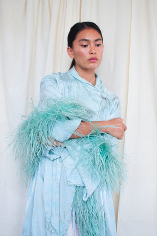 1920s Mint Ostrich Feathered Boa