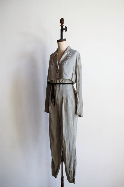 1980s MATSUDA Wool Blend Two-Piece Set