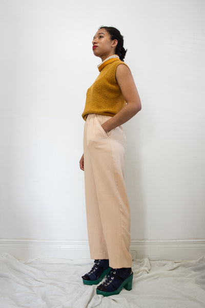 1980s Peach Trousers