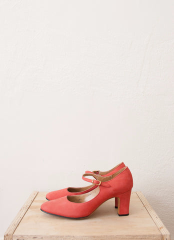 Cerise Mary Jane Pumps | 5 1/2 N