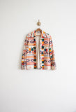 South Western Linen Woven Jacket