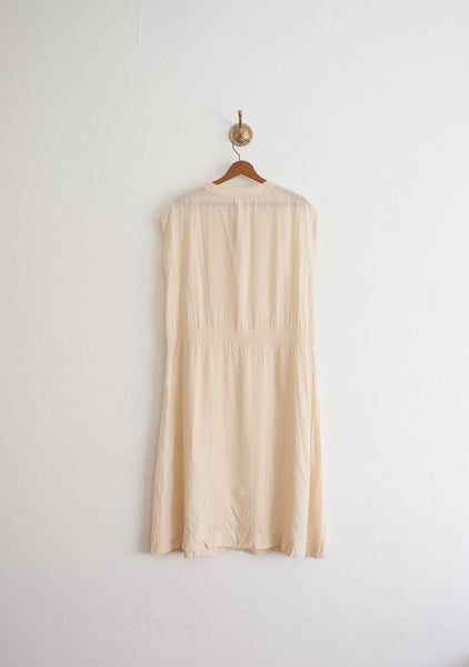 Ferragamo Silk Cream Dress