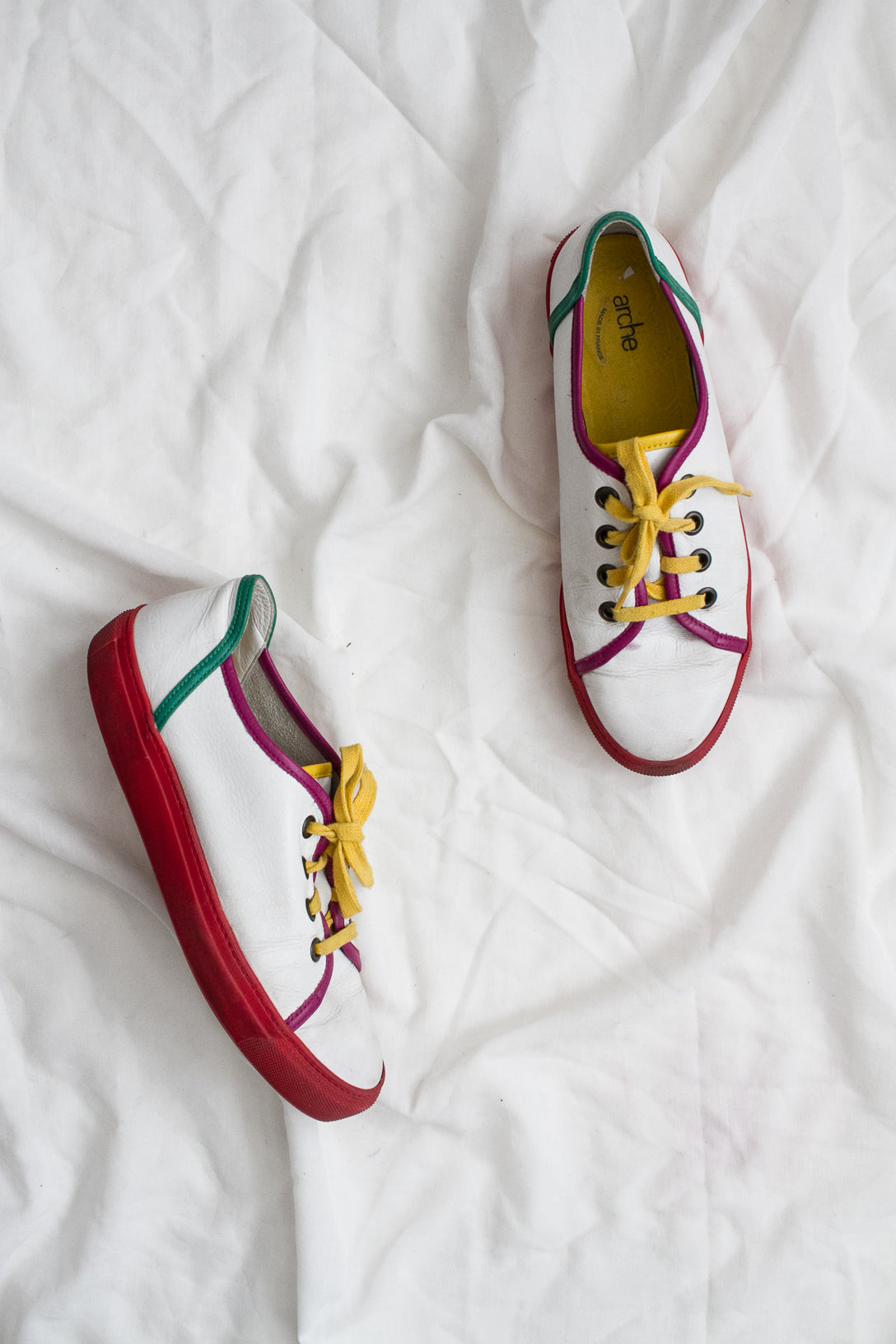1990s Color Block French Sneakers | 9