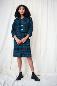 1960s Pendleton Plaid Wool Set