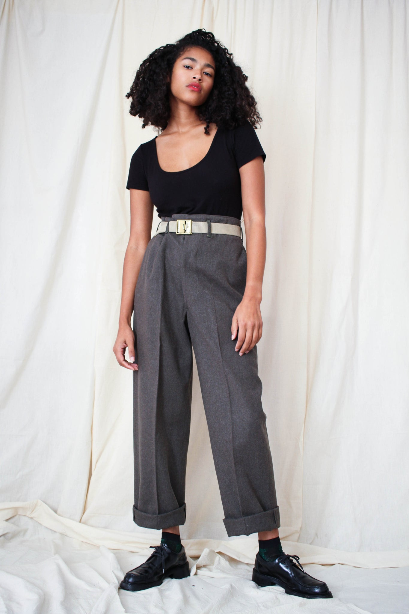 1970s Wool Army Trousers