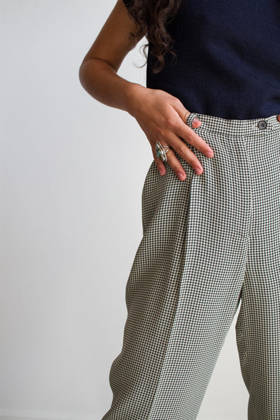 1990s Ann Taylor Houndstooth Pants