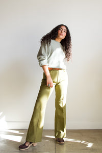 1970s Levi's Moss Green Perma-Press Pants