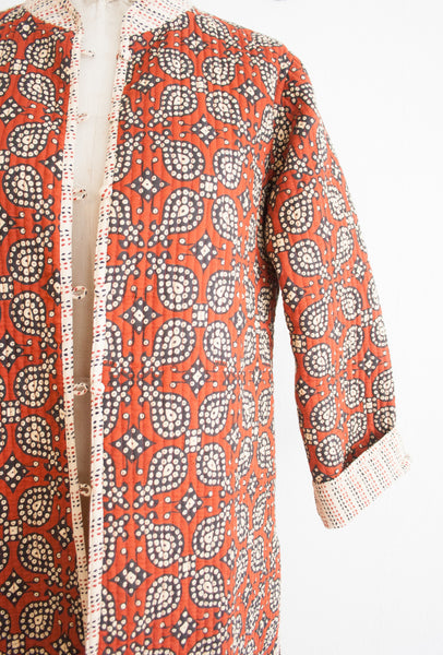 Reversible Paisley Quilted Jacket