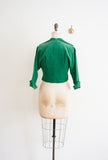 Emerald Green Corduroy Jacket