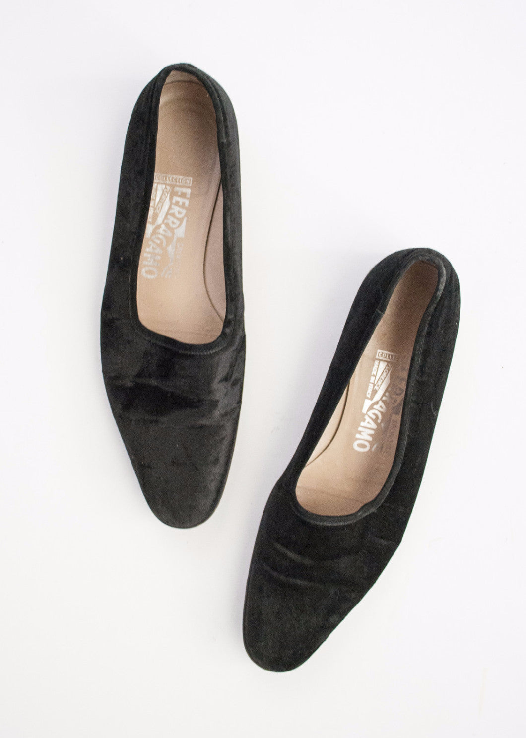 Ferragamo Velour Loafers | 8.5