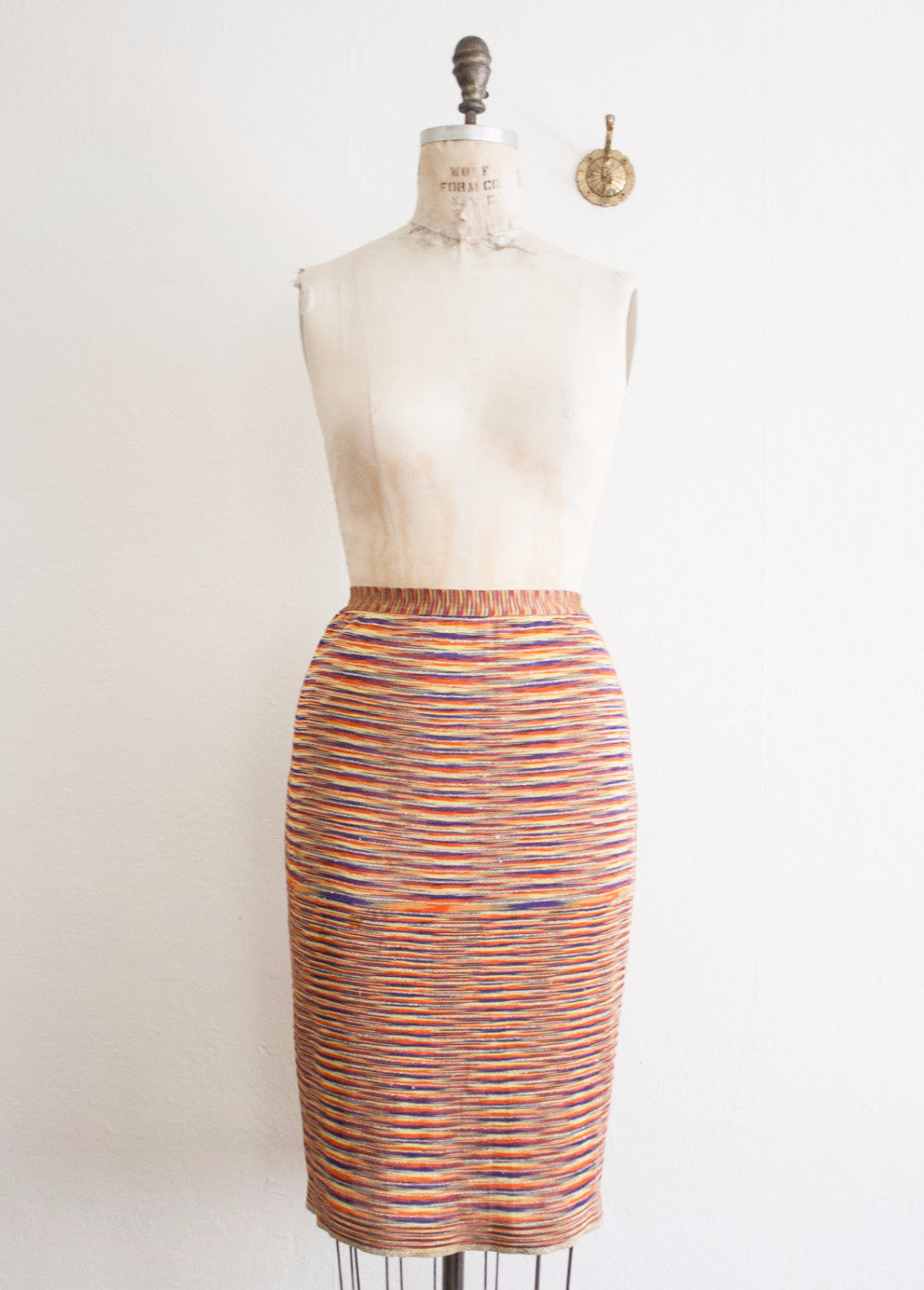 Missoni Multicolored Knit Tube Skirt