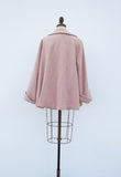 1950s Blush Pink Wool Coat