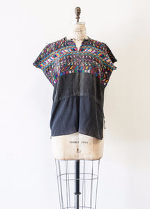 Guatemalan Woven Embroidered Tunic