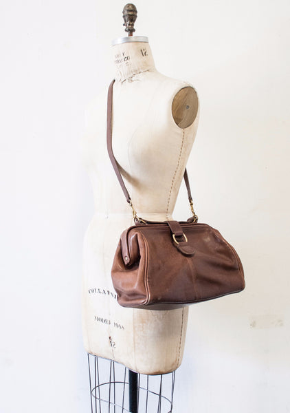 Chocolate Coach Doctor Shoulder Bag