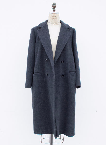 1970s JG Hook Double Breasted Wool Coat