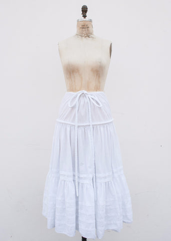Tiered Rope Maxi Skirt