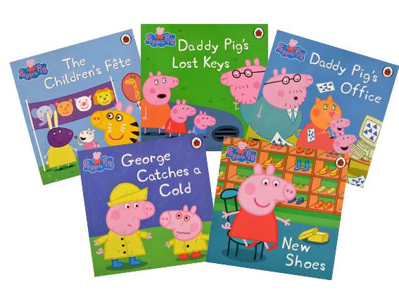 Peppa Pig Storybook Collection 5 Books