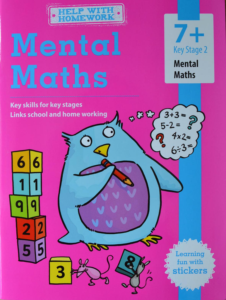 Workbooks key stage 2 workbooks : Help with Homework - Mental Maths (KS 2 - ages 7+) [Paperback ...