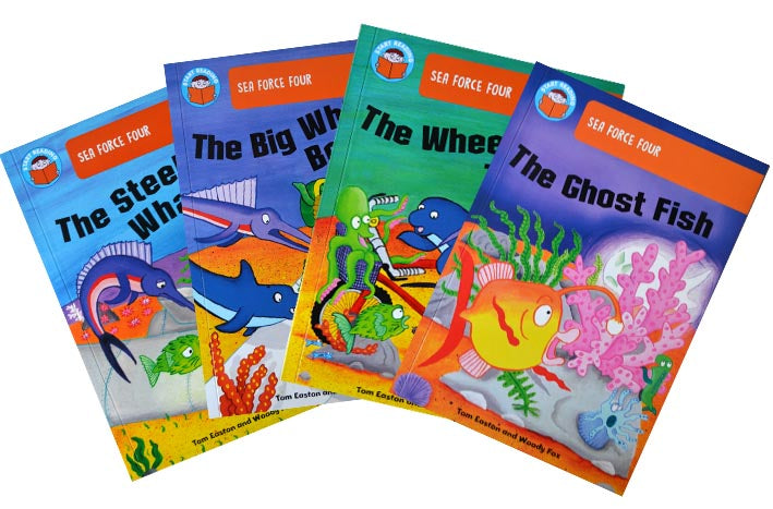 Start Reading Collection - Sea Force Four (5-6 years) [4 book set]