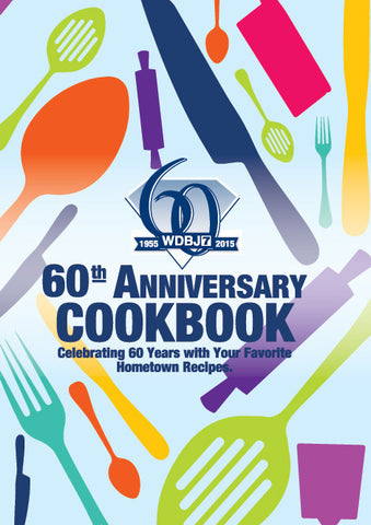 WDBJ7 60th Anniversary Cookbook