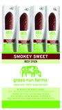 Beef Snack Sticks (1-oz sticks) - 100% Grass Fed - Gluten Free - No Antibiotics or Hormones