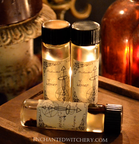 Inner Temple Oil -  Honor this temple, drawing spiritual enlightenment within and nurturing it's true essence