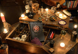 The Spell Caster Witches Apothecary Trunk of Magick -  Enchanted Witchery Spell Trunk & Altar - 2 Options - Purchase Filled with Enchantments or Empty Ready for Filling