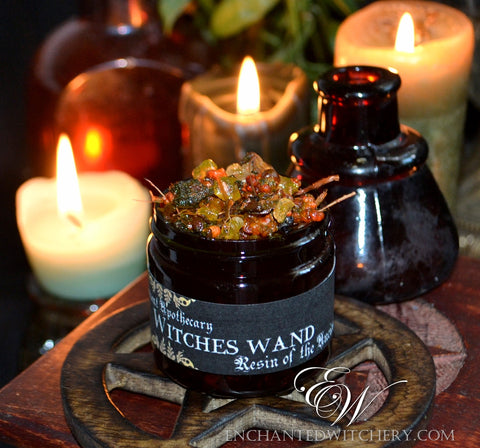 Ancient Apothecary Resin - WITCHES WAND - for casting Nocturnal Magick