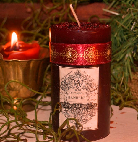 OLD FASHIONED CRANBERRY  Holiday Candle