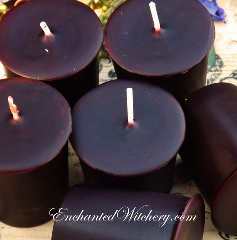 Cinnamon - Enchanted Witchery 18 hr Votive Candles - Set of 4
