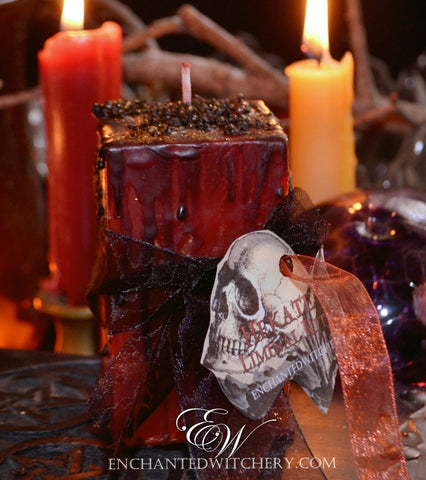 .HEKATE -  Liminal Rites - For Opening the veil, heightening psychic awareness, workings of the dark goddess, Samhain