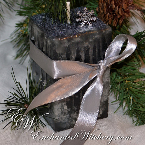Silver Solstice ~ Glistening bright with Silvery Light ~ Dark Musk with Sandalwood & Myrrh