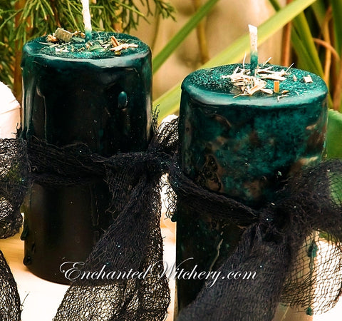 Avalon Old World Spellary Candle - For Celtic, Druid Magick - Avalonian Mysteries
