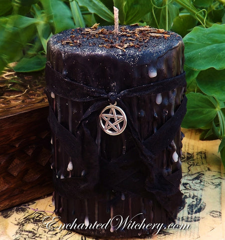 Baba Yaga - Old World Spellary Candle - Arch Crone of Wisdom, Goddess of Wisdom and Death