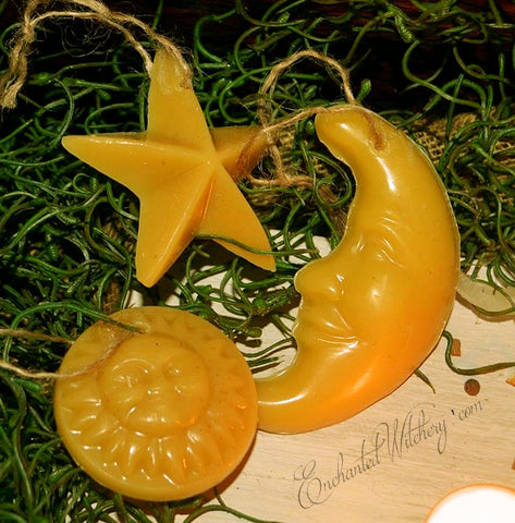 Blessed Bee Yule Tree Ornaments