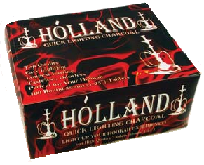 HOLLAND CHARCOAL - Incense Charcoal - 10 Roll Package