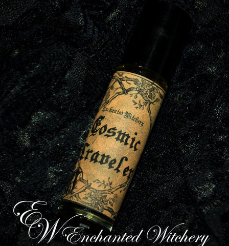 Cosmic Traveler Perfume ~ Clove, Amber, Frankincense, Coffee, Smokey Woods