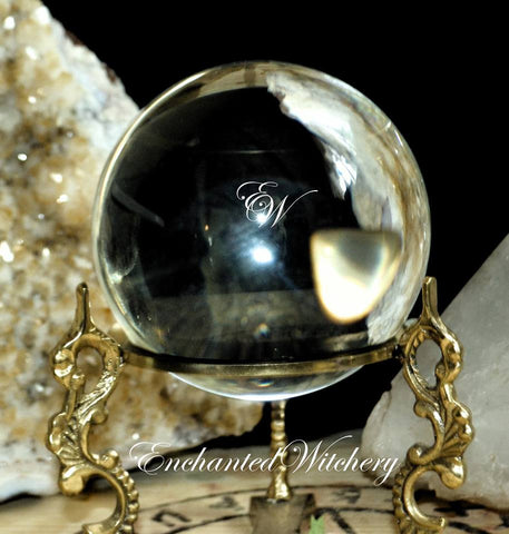 "Crystal Ball - Extra Large 6"" - Let the crystal ball answers your questions"