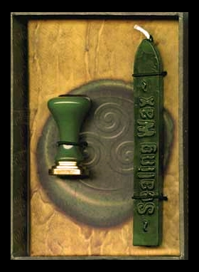 Celtic Triskele Wax Sealing Set - Magickal Seal - Sigil