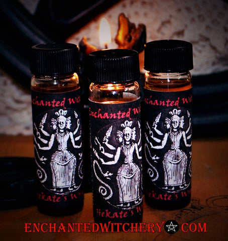 Hekate's Wrath - Ritual Perfume Oil - empowerment perfume of the Goddess