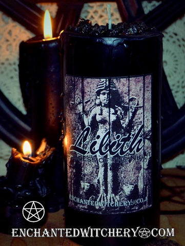 Lilith Goddess of the Night - The Deity Collection - Enchanted Witchery Candle