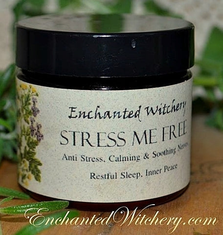 Stress Me Free Salve ~for anti stress, to calm nerves, ease headaches & tension