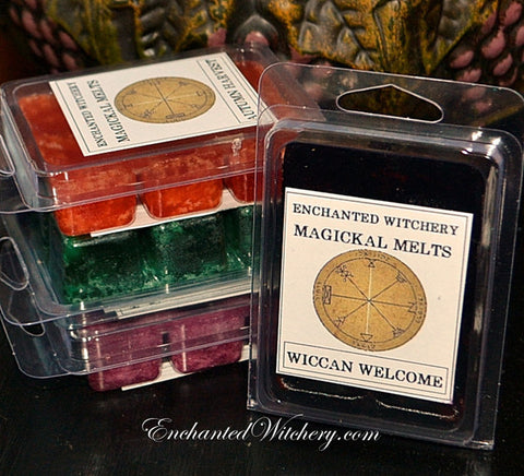 Magickal Melts - Simmering Wax Melts for Tea Light Diffusers & Electric Candle Melting Pots