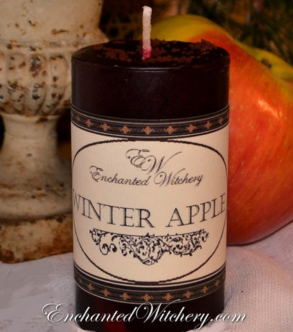 Winter Apple - Old World Spellary Candle - Love, Abundance & Happiness