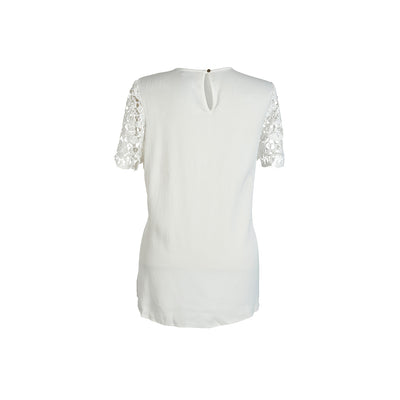BLUSA SLEEVE LACE CREPE LIGHT