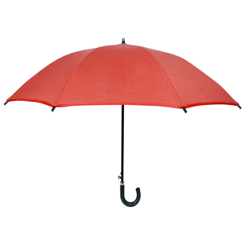 Sun Protection Umbrella (small) Sunset Orange featuring Sunbrella™ fabric w/ sleeve and shoulder strap
