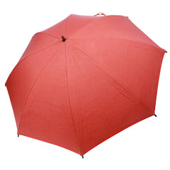 Sunset Orange Personal Size Sun Protection Umbrella™ featuring Sunbrella™ Fabric w/ sleeve and shoulder strap